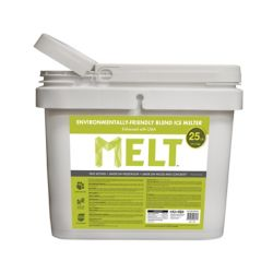 Snow Joe MELT 25 Lb. Bucket Premium Environmentally-Friendly Blend Ice Melter w/ CMA
