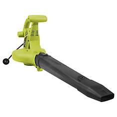 14 amp High Performance Variable-Speed Electric Blower/Vacuum/Mulcher with Metal Impeller