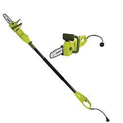 Sun Joe 2-in-1 8-inch 8 Amp Electric Convertible Pole Chain Saw