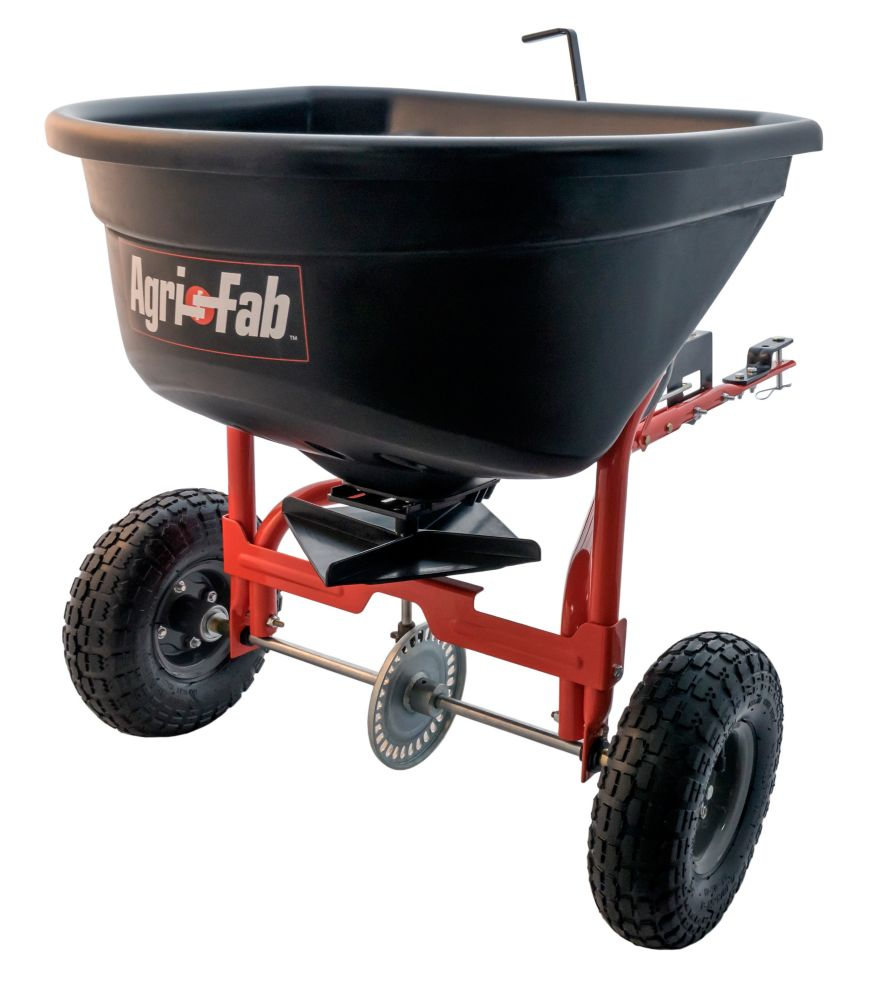 Agri-Fab 110 lb. Capacity Tow Broadcast Spreader 45-0527