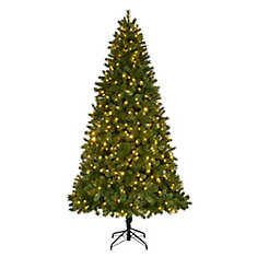 9 ft. Fraser Spruce Quick Set Christmas Tree