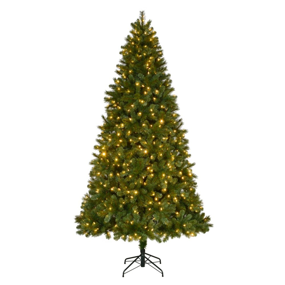 Home Accents Holiday 9 ft. Fraser Spruce Quick Set Christmas Tree