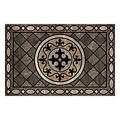 23-inch x 35-inch Stancliff Taupe Door Mat