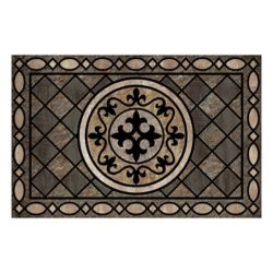 Home Decorators Collection Tapis Stancliff taupe 23 x 35 HDC 4-CRD