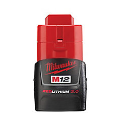 M12 12V Lithium-Ion Compact (CP) 3.0 Ah REDLITHIUM Battery Pack
