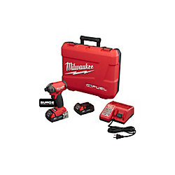Milwaukee Tool M18 Fuel Surge 1/4 Inch Hex Hydraulic Driver Kit