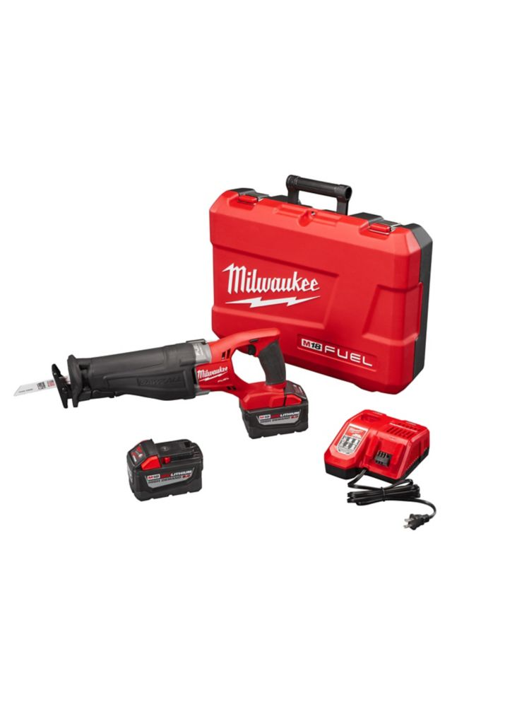 Milwaukee Tool M18 Fuel Sawzall Reciprocating Saw HD Kit