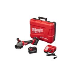 Milwaukee Tool M18 Fuel 4-1/2 Inch/5 Inch Grinder, Paddle Switch No-Lock HD Kit