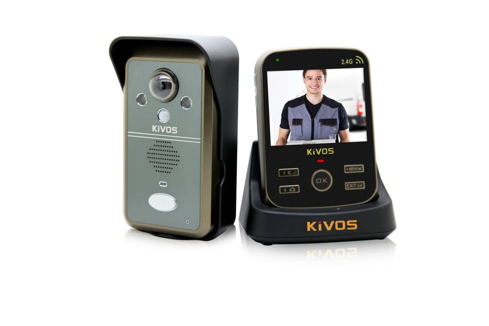 KiVOS Wireless video doorbell intercom  kit