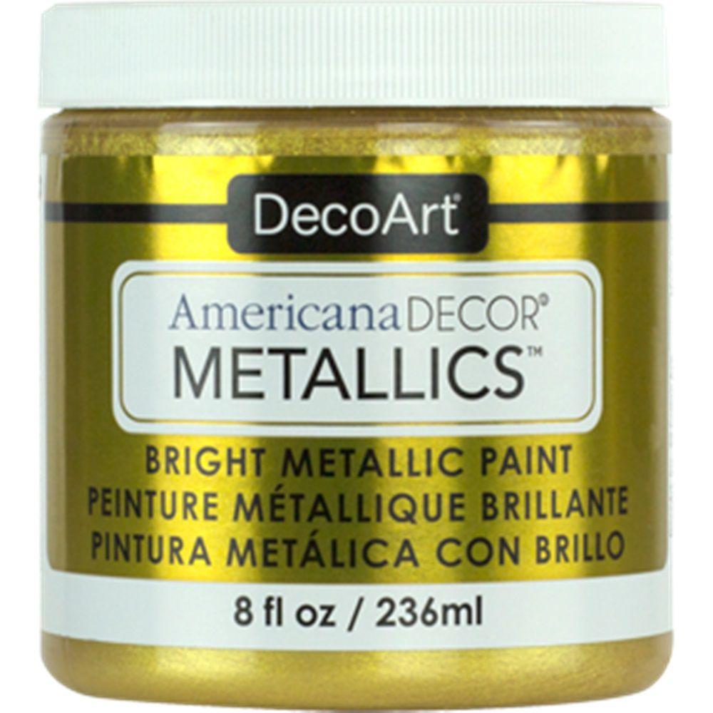 DecoArt Metallic Paint 8oz -24K Gold