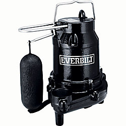 Everbilt 1/3 HP Cast Iron Sump Pump