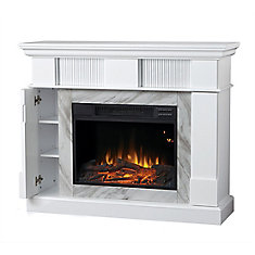 Electric Fireplace with 45-inch Mantel