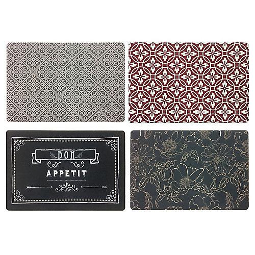 Tapis de confort imprimé, 24 po x 36 po, multicolore (styles assortis)