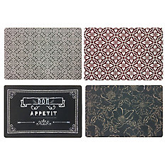 Multicolor 24-inch x 36-inch Printed Comfort Mat  (Assorted Styles)