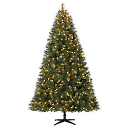 7.5 ft. Pre-Lit LED Cloud Peak Artificial Christmas Tree with 550 Warm White Lights