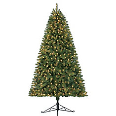 7 ft. 350-Light Hayden Fir Half Tree
