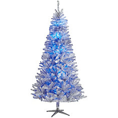 7.5 ft. Nostalgia Vintage Quick Set Aluminum Tree