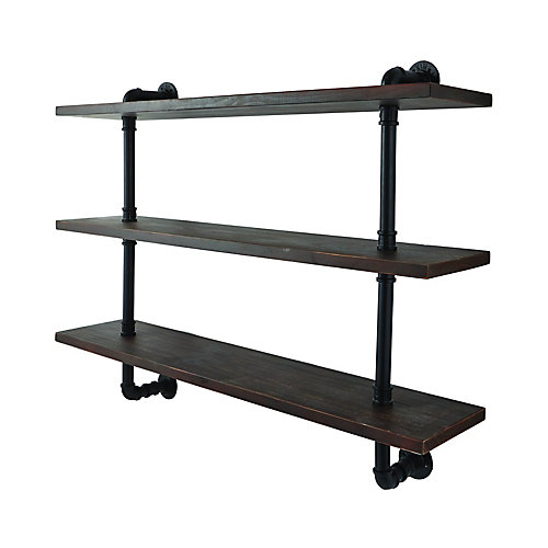 3 tier wall shelf