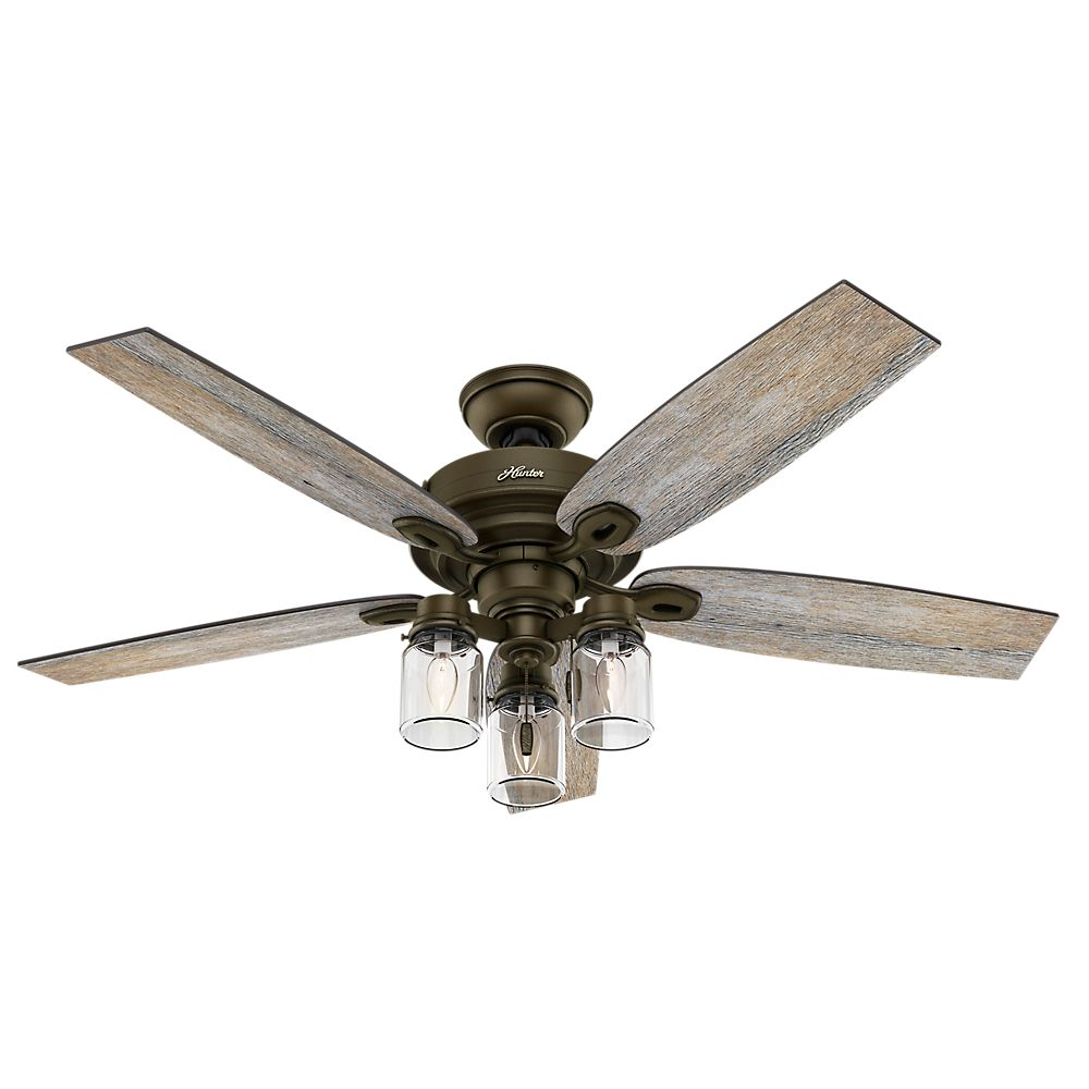 Hunter Crown Canyon 52 Inch Regal Bronze Ceiling