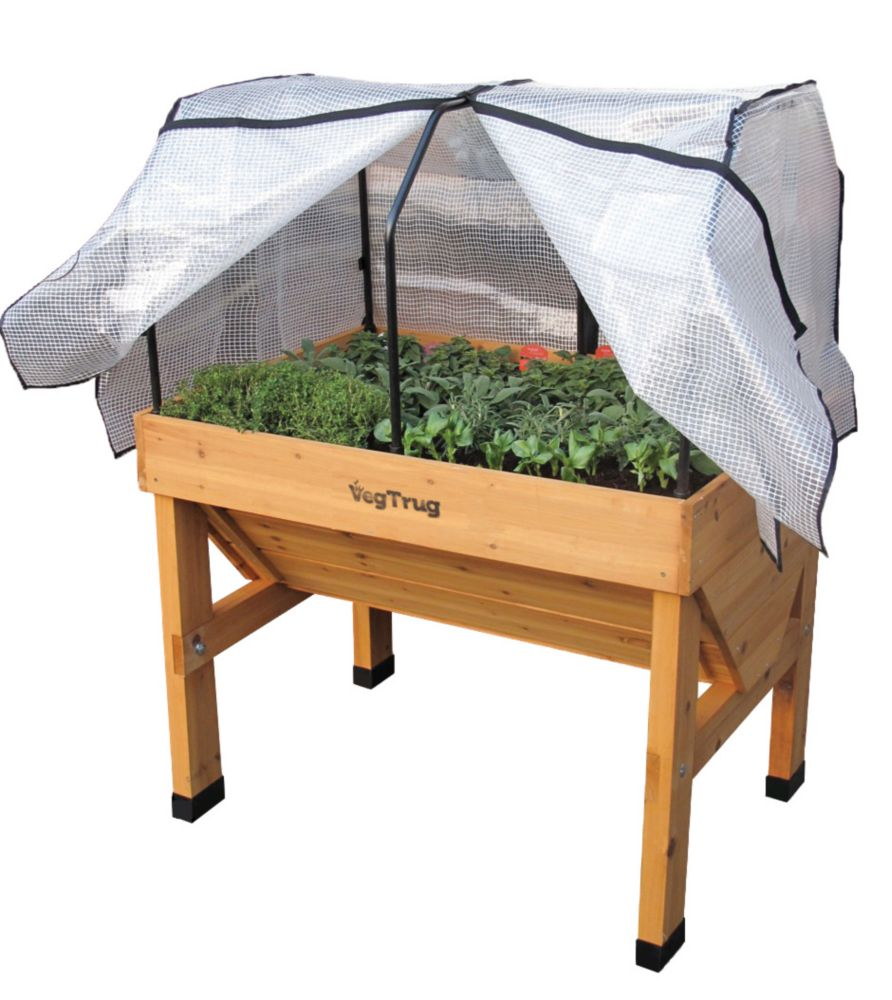 VegTrug Small Greenhouse Frame And Cover For Classic