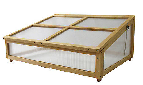 VegTrug Cold Frame for Small Classic Raised Garden Bed | The Home ...