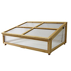 Cold Frame for Small Classic Raised Garden Bed