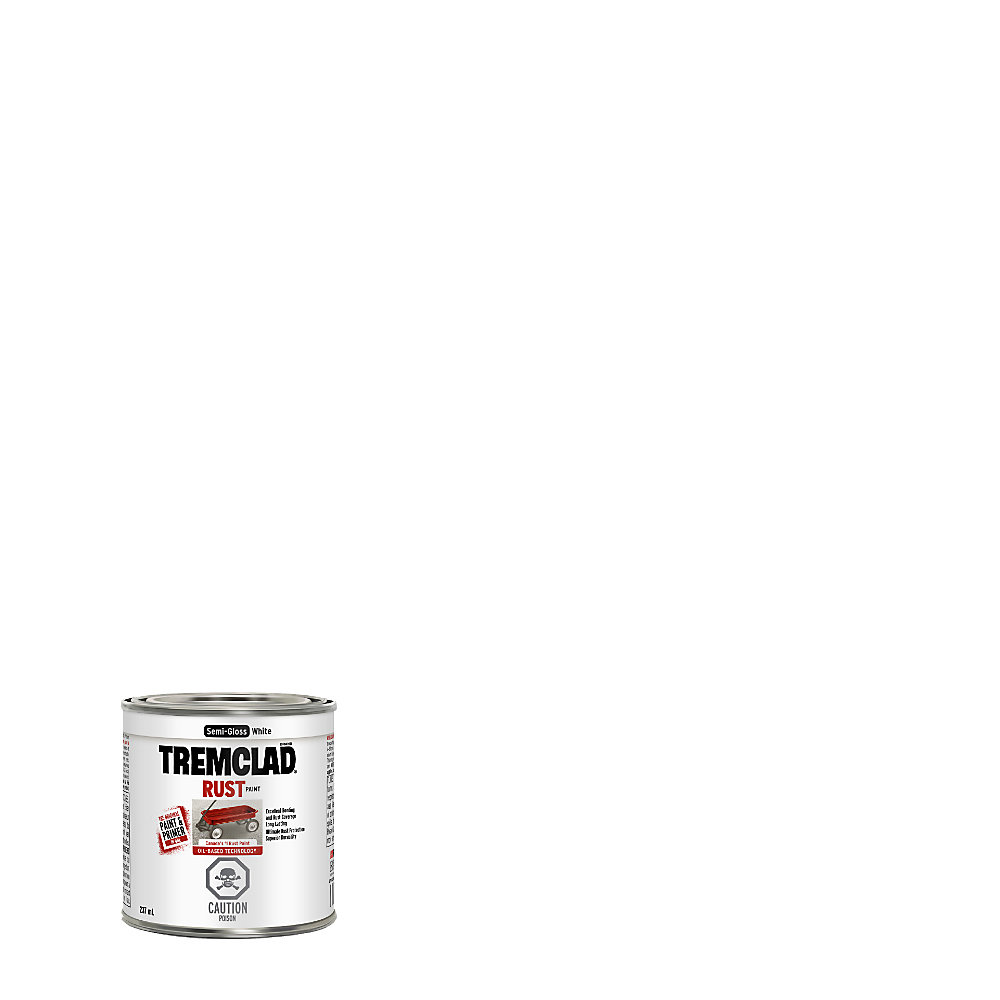237 mL Oil Based Rust Paint In Semi-Gloss White
