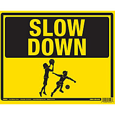 19 X 24 Children At Play Sign
