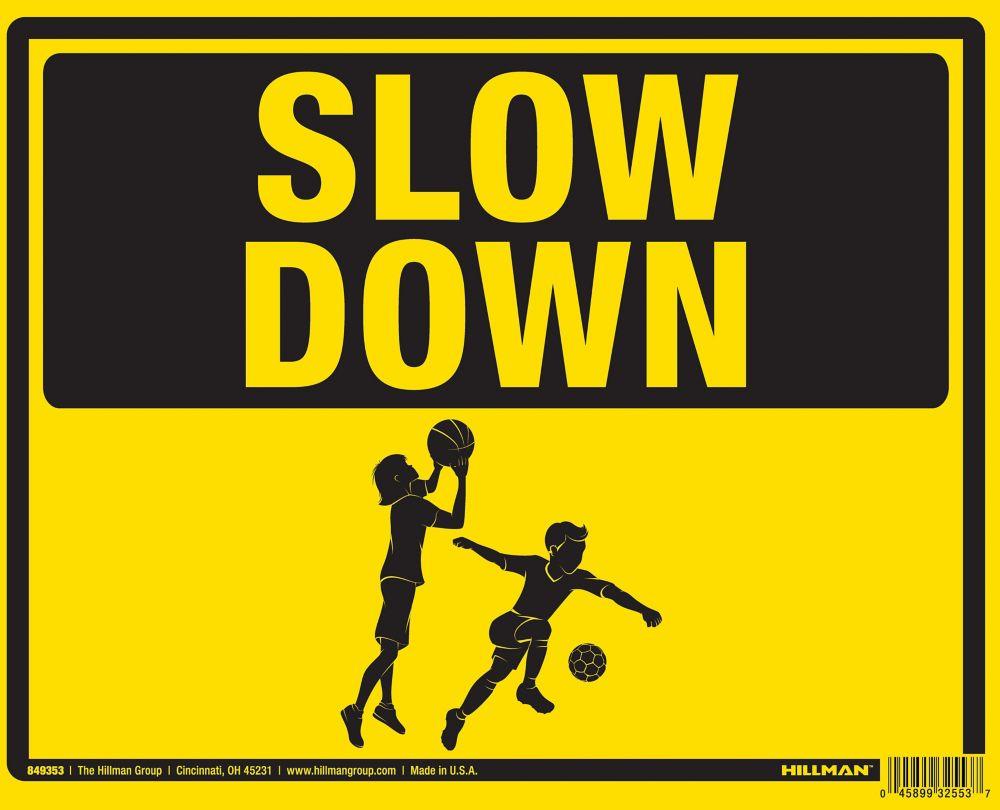 Hillman 19 X 24 Children At Play Sign
