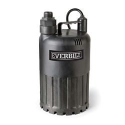 Everbilt Pompe utilitaire submersible, 1/2 HP