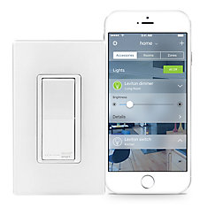 Switch with HomeKit Technology in White (Wallplate Sold Separately)
