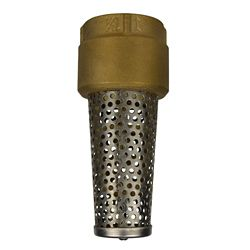 Everbilt 1-1/4 inch Bronze Foot Valve