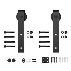 Everbilt Barn Door Hardware-Traditional Design Hanger Set