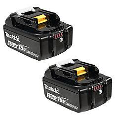 Li-ion Battery 18V (5.0Ah) (2-Pack)