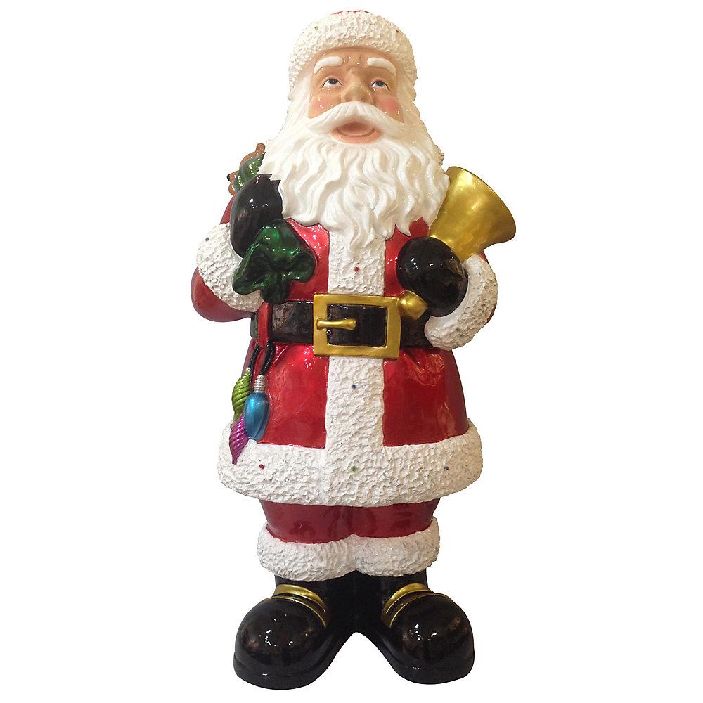 Père Noël musical à DEL, 40 po