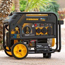 FIRMAN 4550/3650 watts Génératrice portative essence/propane à démarrage électrique certifiée CARB et cETL