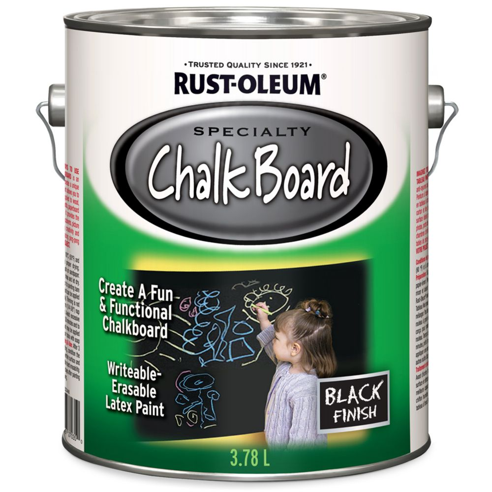 Chalkboard Dec Wall 3.78l