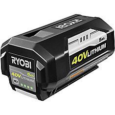 Batterie au lithium-ion de 40 V de 5 Ah à haute capacité