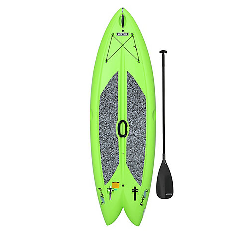 Freestyle XL de Lifetime La planche à bras de 2,9m (116po) vert lime