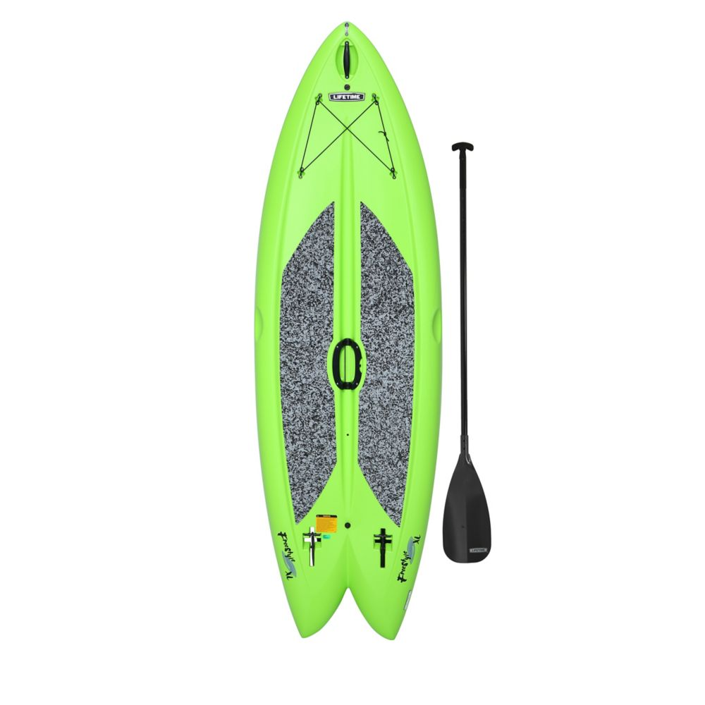 Lifetime Green Freestyle Paddleboard with Paddle