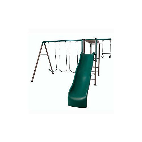 Balançoires Cage à grimper aventure (tons de terre)