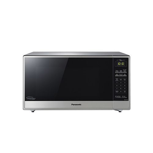 Panasonic 1.6 cu.ft. Cyclonic Wave Inverter Stainless Steel Finish
