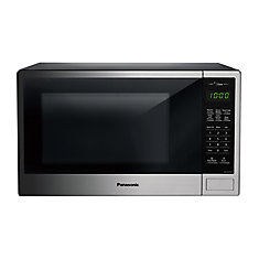 1.3 cu. ft. Genius Countertop Microwave Oven, Stainless Steel Finish