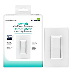 Leviton Decora 15A Smart with Z-Wave Plus Technology Switch