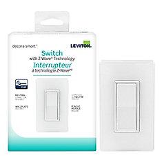 Interrupteur Smart avec technologie Z-Wave Plus, 15 Amps