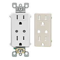 Z-Wave Enabled 15 Amp Scene Capable Receptacle