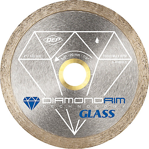 4 inch Glass Cutting Blade