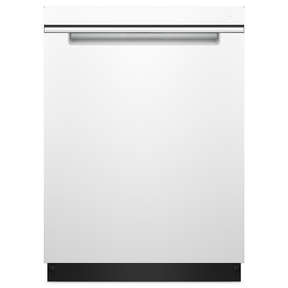 Top Control Dishwasher in White with Stainless Steel Tub and Pocket Handle, 47 dBA - ENERGY STAR®