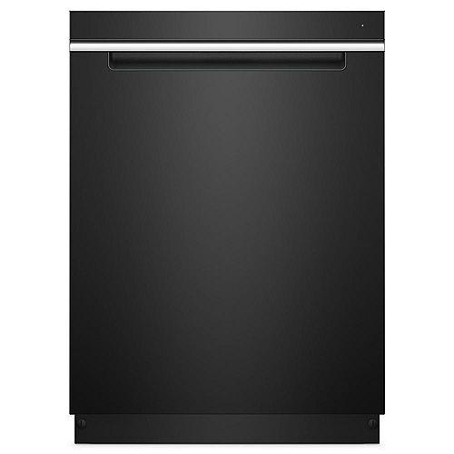 Lave-vaisselle à commande supérieure en noir avec cuve et poignée en acier inoxydable, 47 dBA - ENERGY STAR