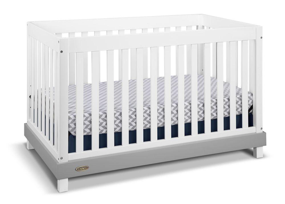 Graco Maddox Convert Crib-White/Grey